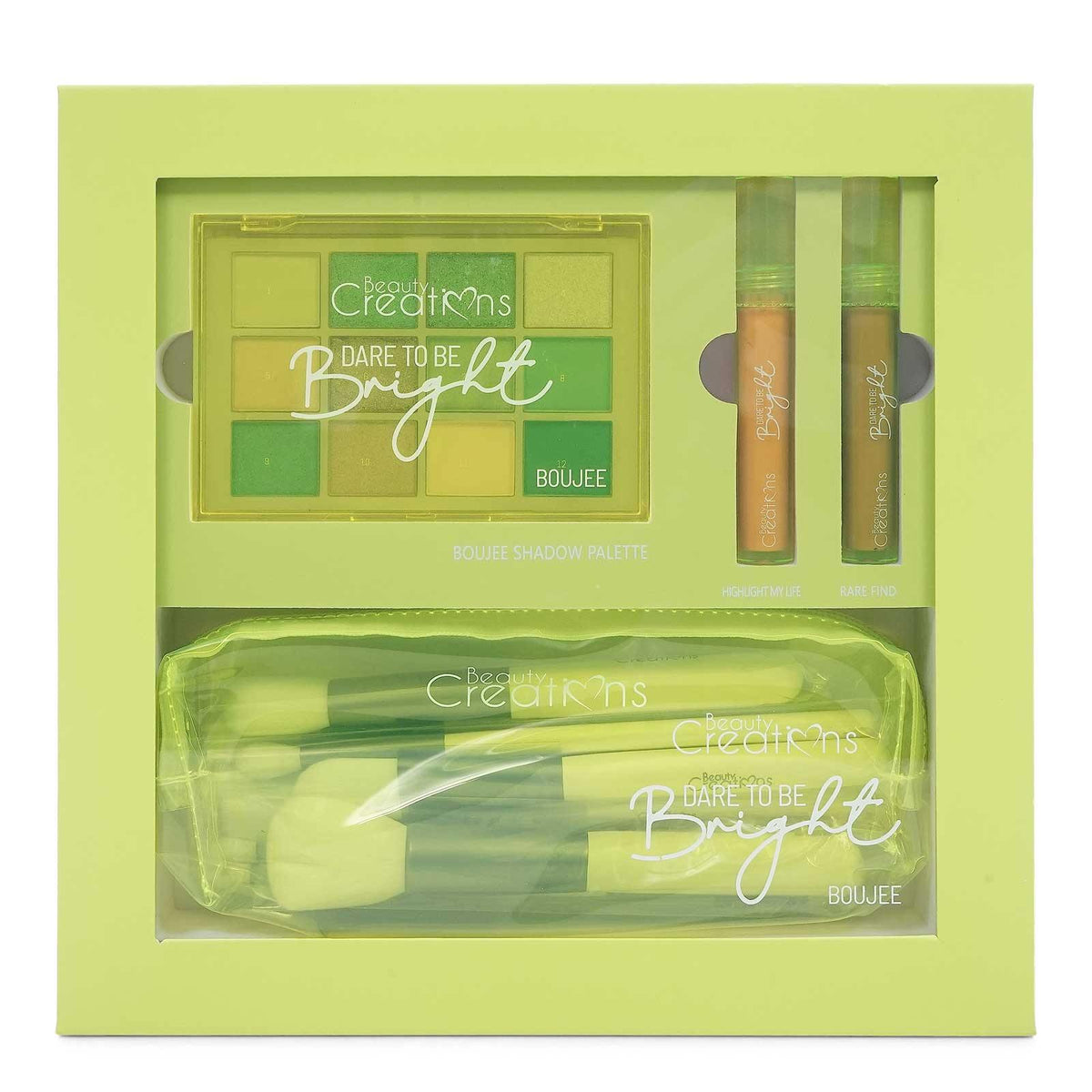 Beauty Creations DARE TO BE BRIGHT (1/cs)