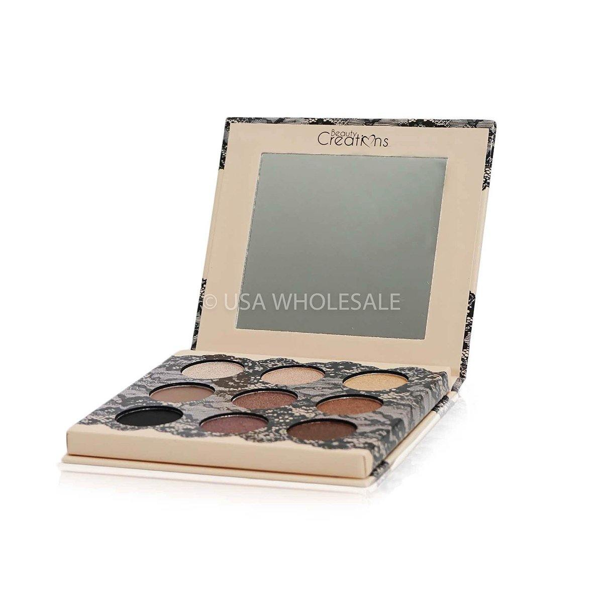 BEAUTY CREATIONS | Boudoir Shadows Eyeshadow Palette (9 Colors X Case of 12)