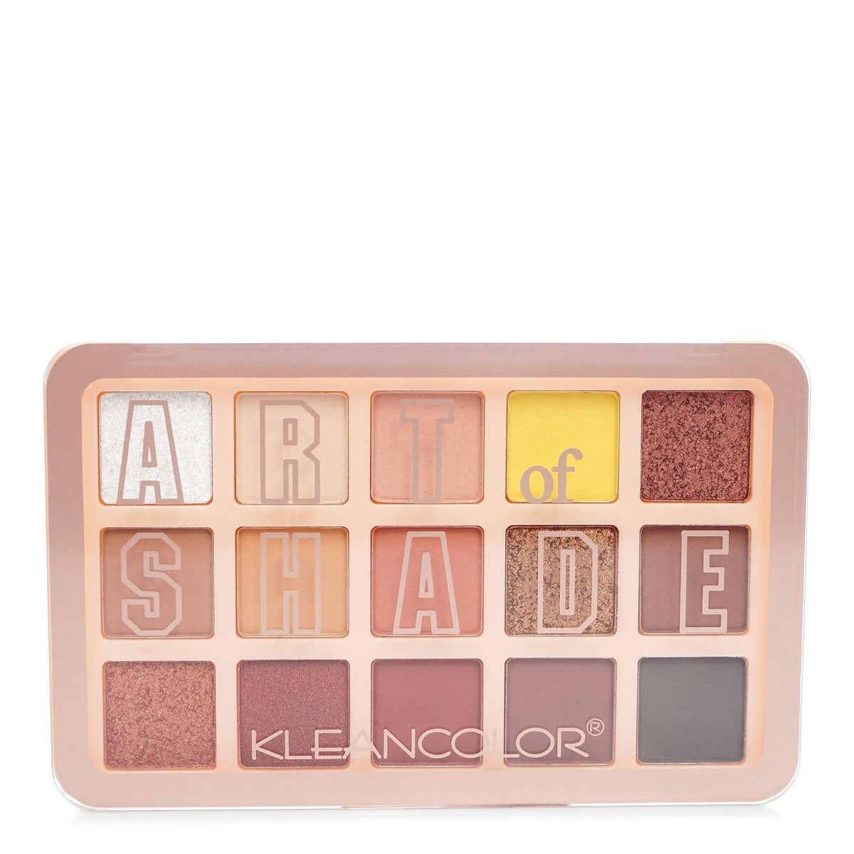 KLEANCOLOR Art of Shade Eyeshadow Palette, 2 Palette Assorted