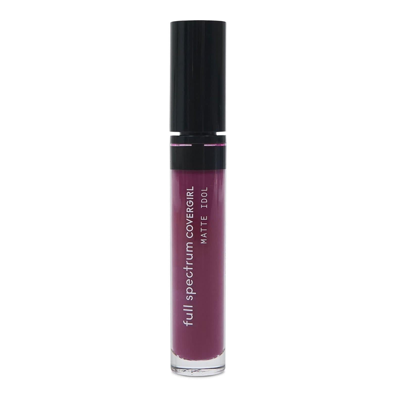 COVERGIRL MATTE IDOL LIQUID LIPSTICK - FETISH (12/cs)