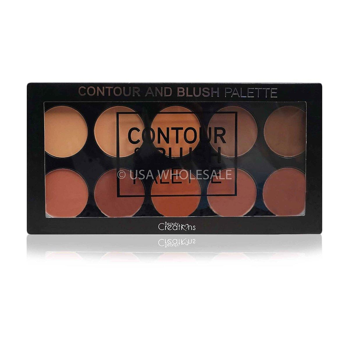 BEAUTY CREATIONS | Contour & Blush Palette (10 Colors X Case of  12)