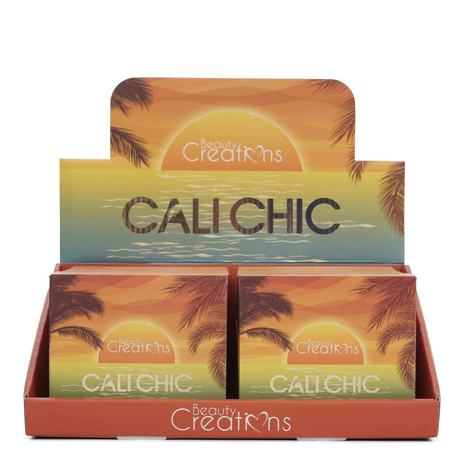Beauty Creation CALI CHIC 9 Shades - #E9C -Matte and shimmer shades, highly pigmented. (12/cs)