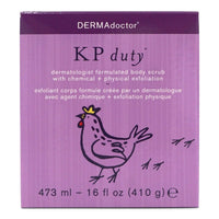 DermaDoctor KP Duty Dermatologist Formula Body Scrub - (473ml/16oz) (12/cs)