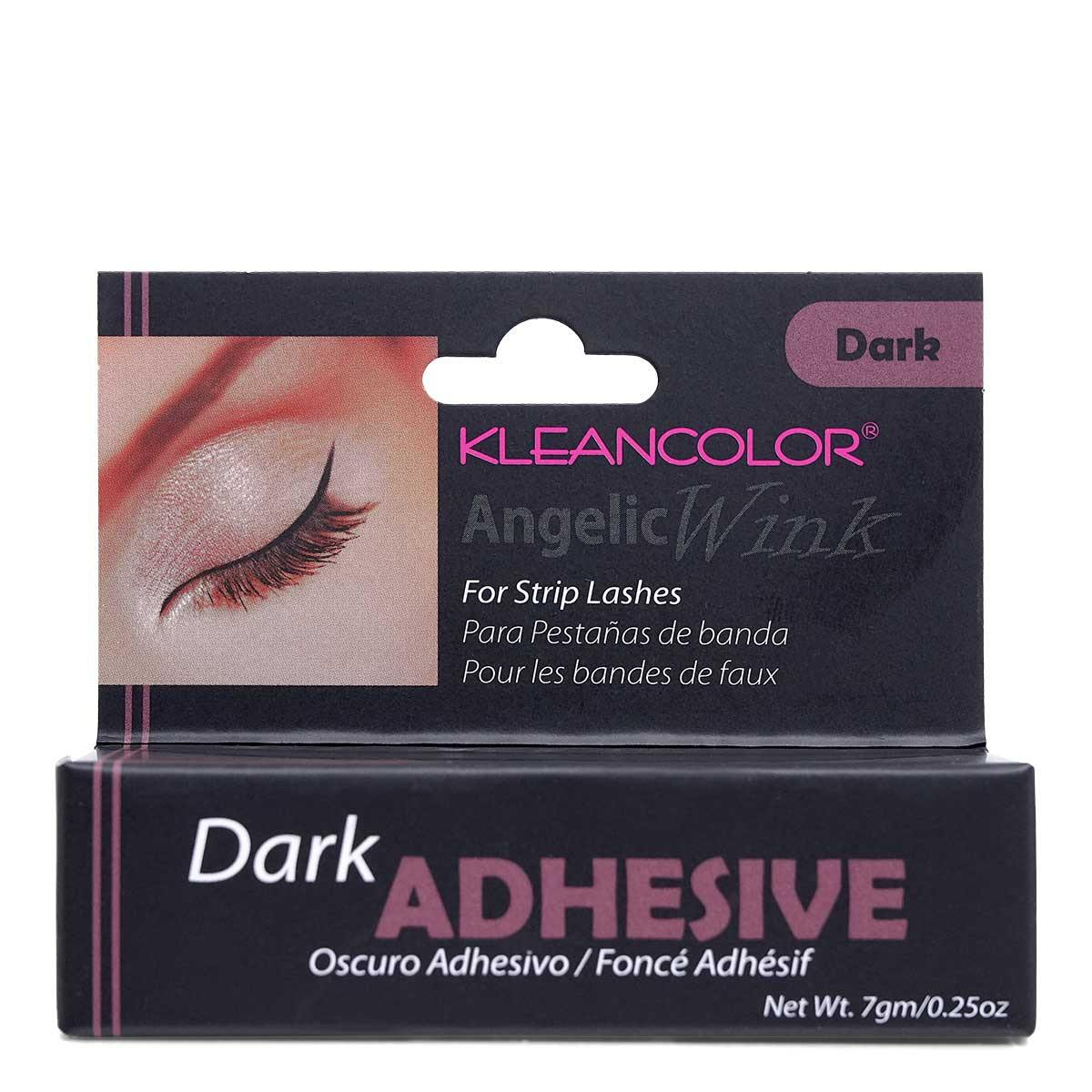 KLEANCOLOR Angelic Wink Eyelash Adhesive Dark (EA7D) - Display of 24 units