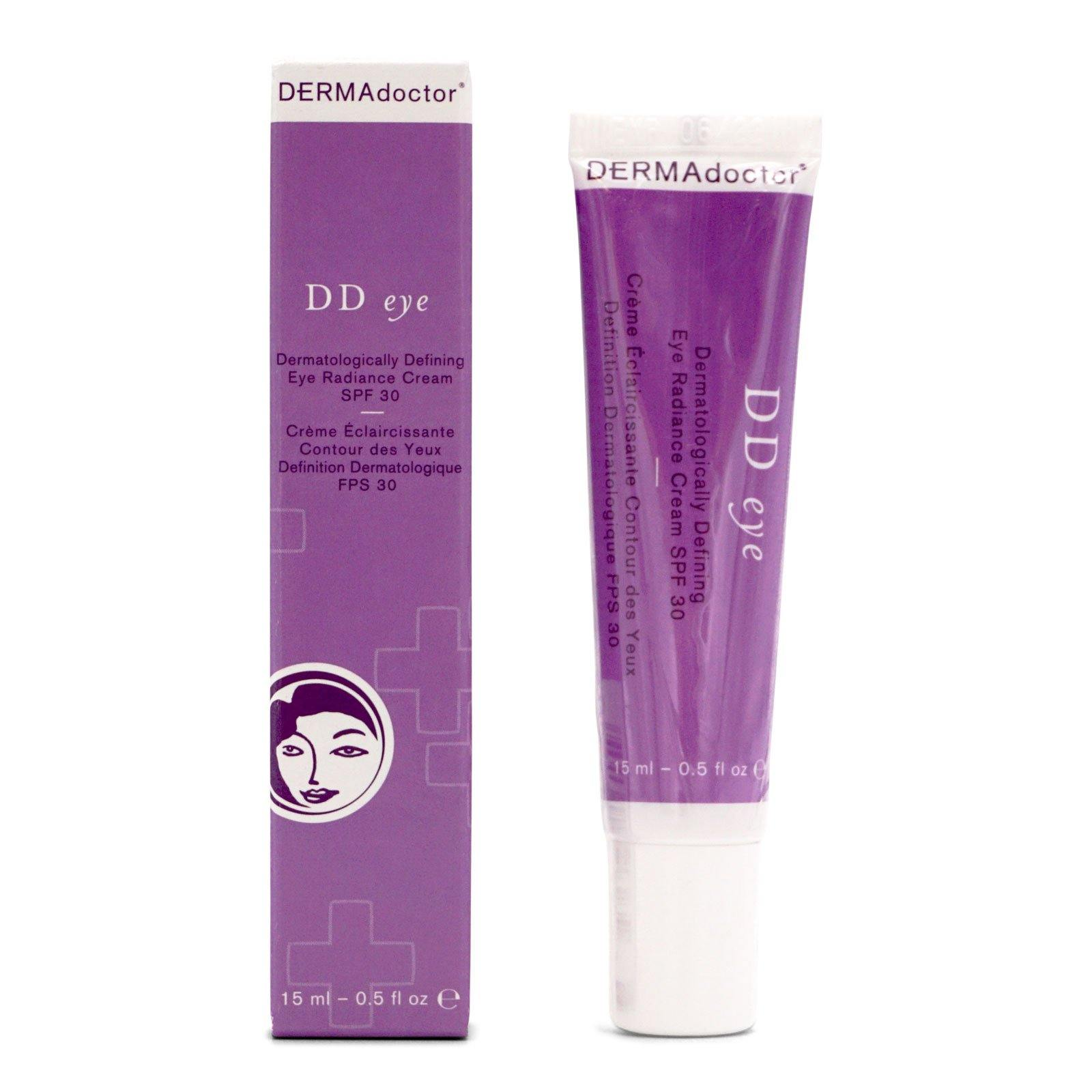 DERMAdoctor DD Eye Dermatologically Defining Eye Radiance Cream SPF 30 - (15ml/0.5oz) (12/cs)
