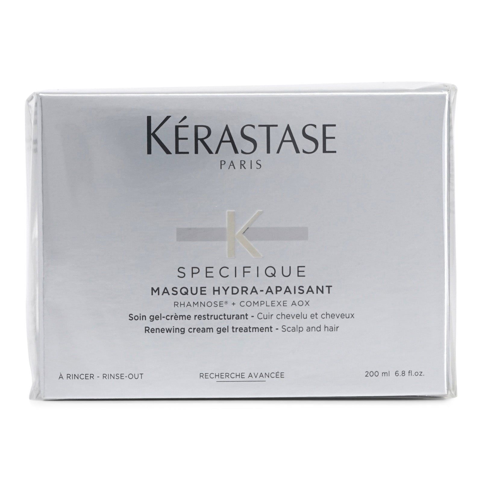 Kerastase Specifique Masque Hydra-Apaisant, concentrated antioxidant gel treatment (6.8oz/200ML) (3/cs)