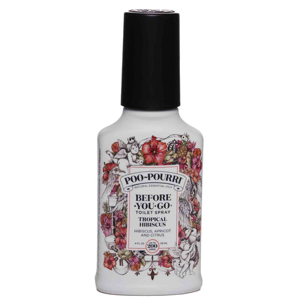 POO-POURRI | Aerosol para inodoro Before-You-Go Tropical Hibiscus-4oz (24 / caja)