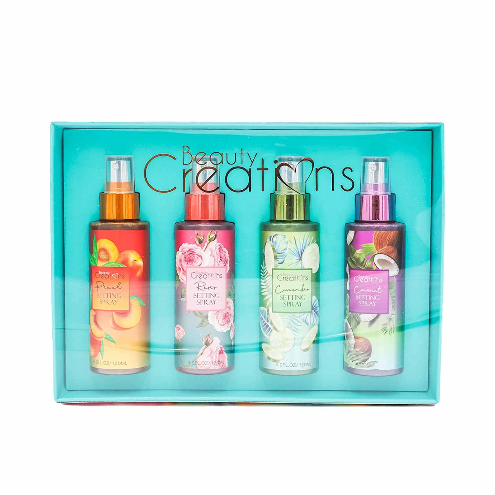 BEAUTY CREATIONS SETTING SPRAY SET SPS SET (6/cs)