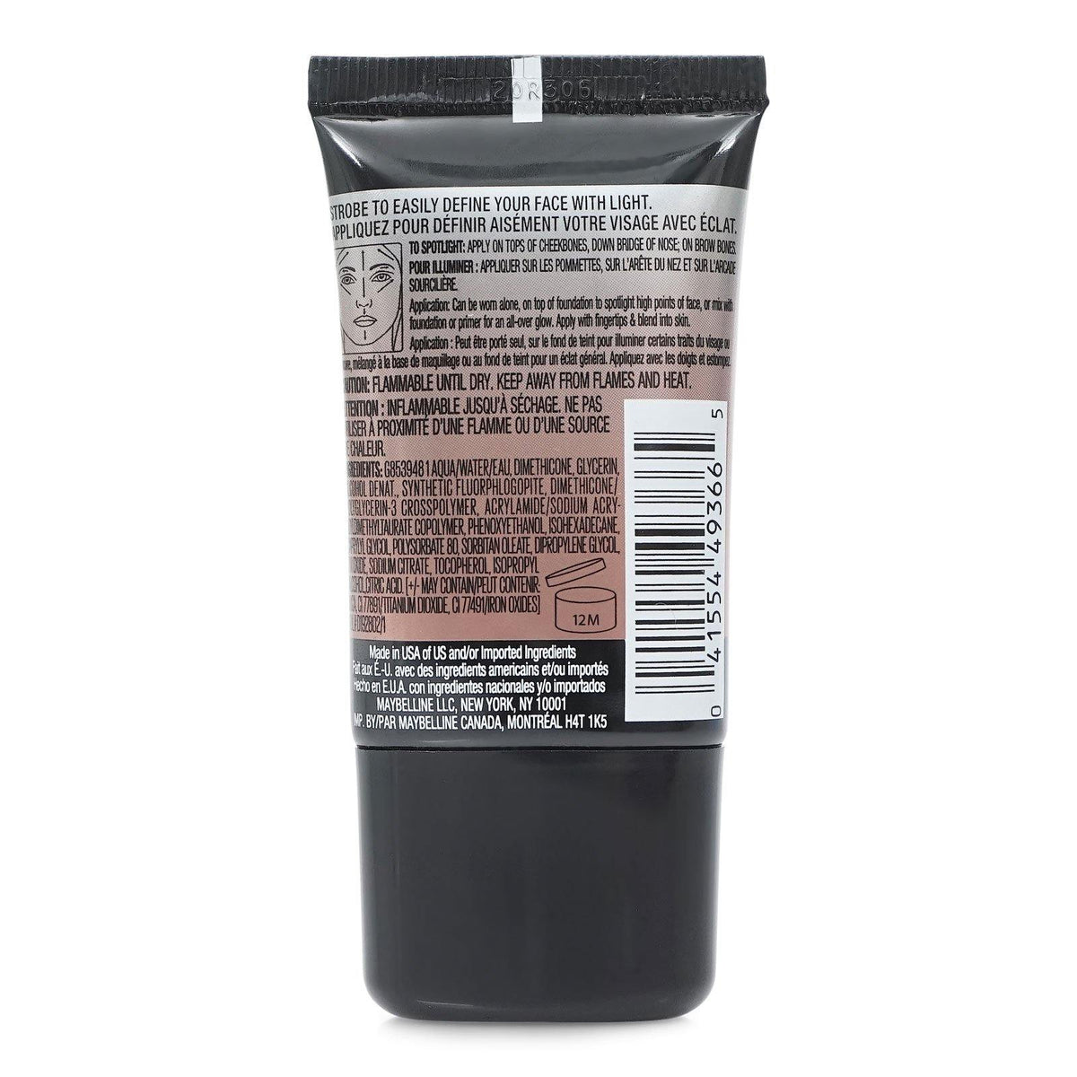 MAYBELLINE MASTER STROBE HIGHLIGHTING LIQUID (24/cs)