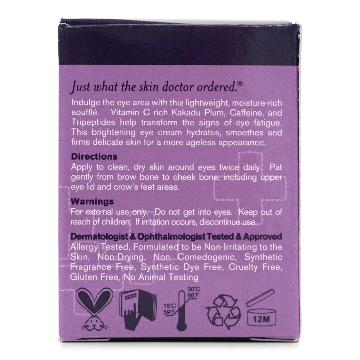 DermaDoctor Kakadu C Eye Souffle - (15ml/0.5oz) (12/cs)