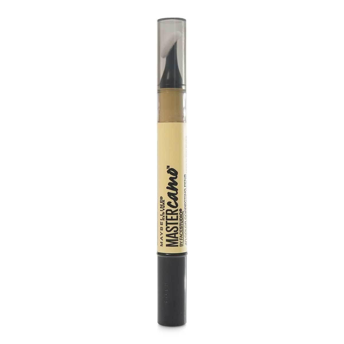 Maybelline Master Camo Color Correcting Pen, Yellow for Dullness, light-med, .05 fl. oz. (24/cs)