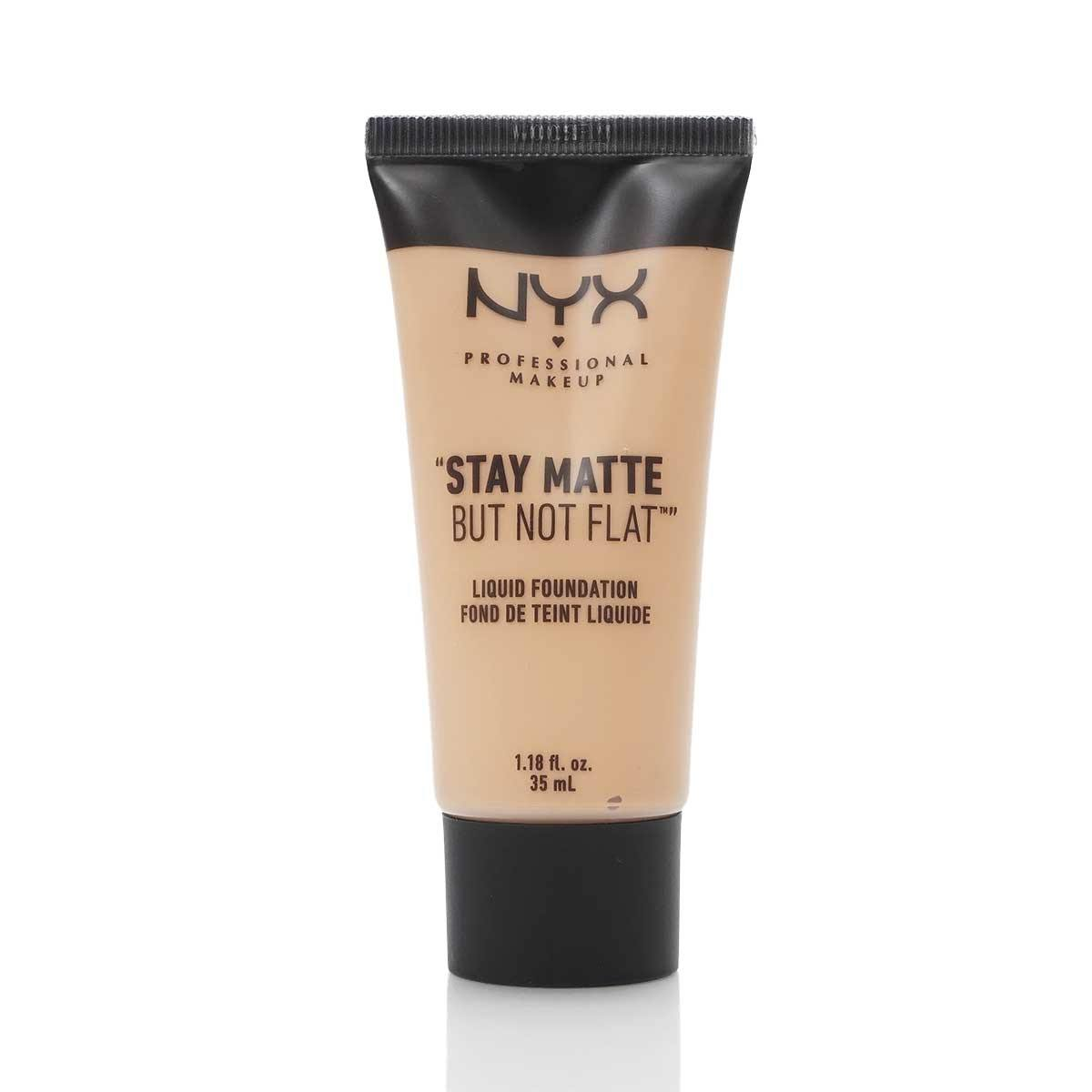 NYX STAY MATTE NOT FLAT FOUNDATION - NUDE (24/cs)