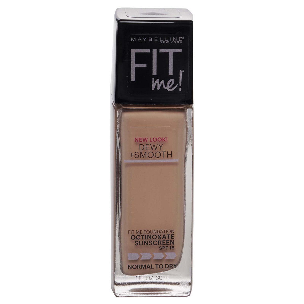 Maybelline FitMe Dewy + Smooth Foundation SPF 18 130-Buff Beige