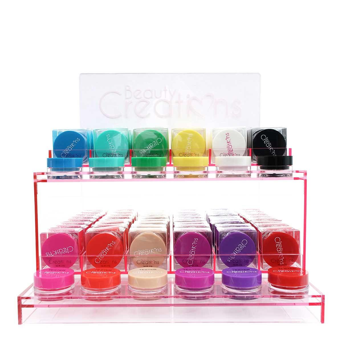 BEAUTY CREATIONS DARE TO BE BRIGHT GEL LINER DISPLAY- EGD (1/cs)
