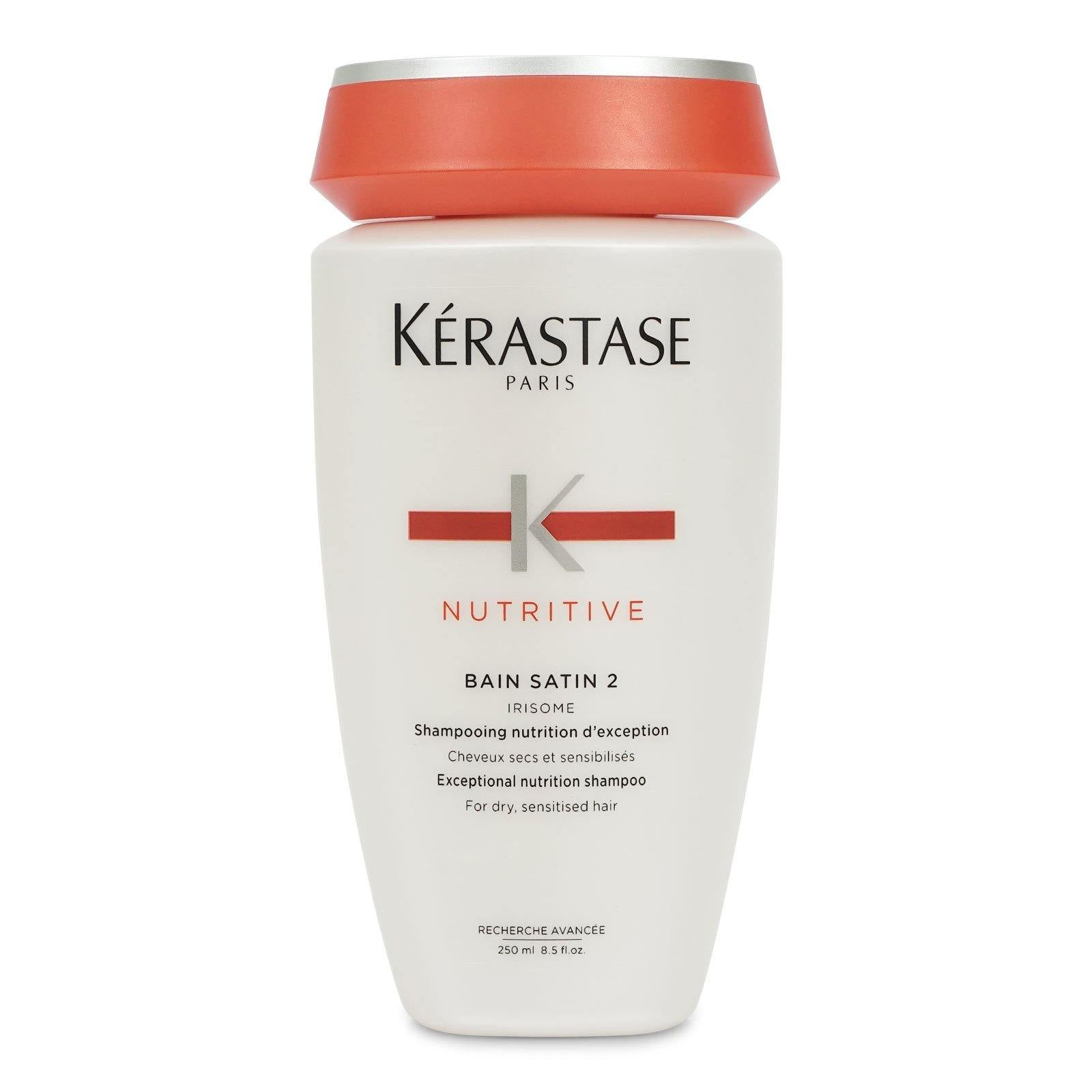 Kerastase Nutritive Bain Moisturizing Shampoo, Dry Hair 250ml/8.5 fl oz (3/cs)