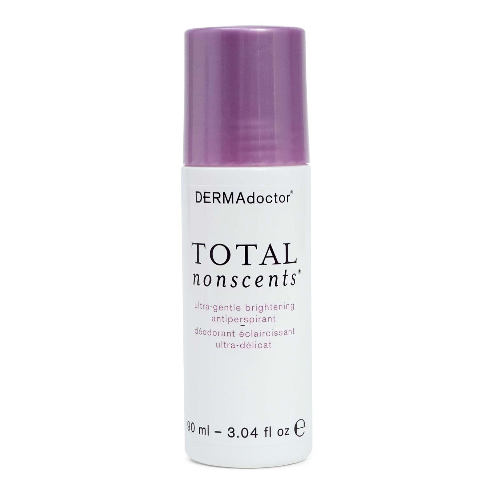 DermaDoctor Total Nonscents Ultra Gentle Brightening Antiperspirant - Protects against wetness and odor, great for uneven skin tone. (12/cs)