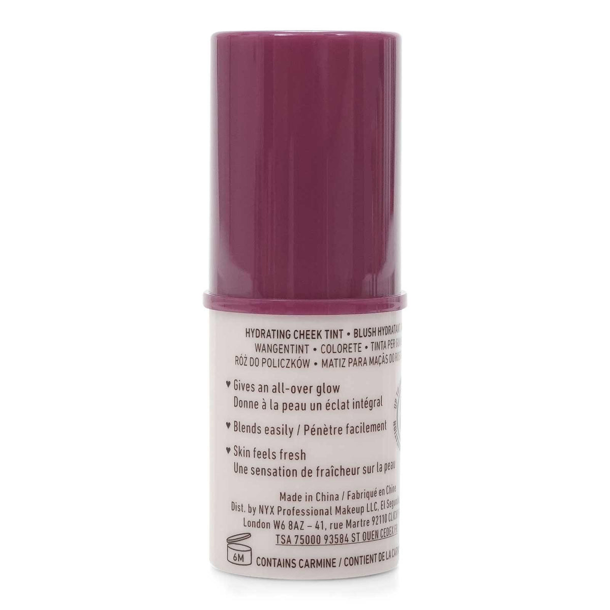 NYX BARE WITH ME HYDRATING CHEEK TINT - DO ME RIGHT (BERRY) (24/cs)