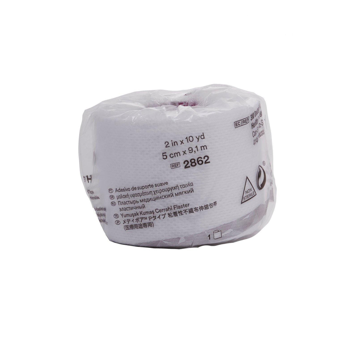 3M | Medipore H Cloth Surgical Tape-2 in. (12/cs)
