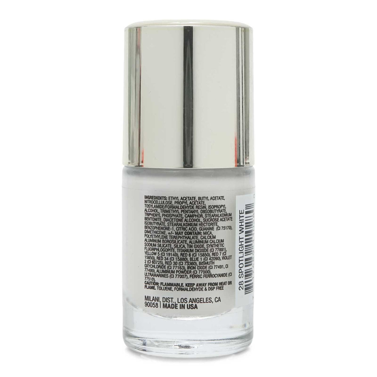 MILANI COLOR STATEMENT NAIL COLOR- SPOTLIGHT WHITE (24/cs)