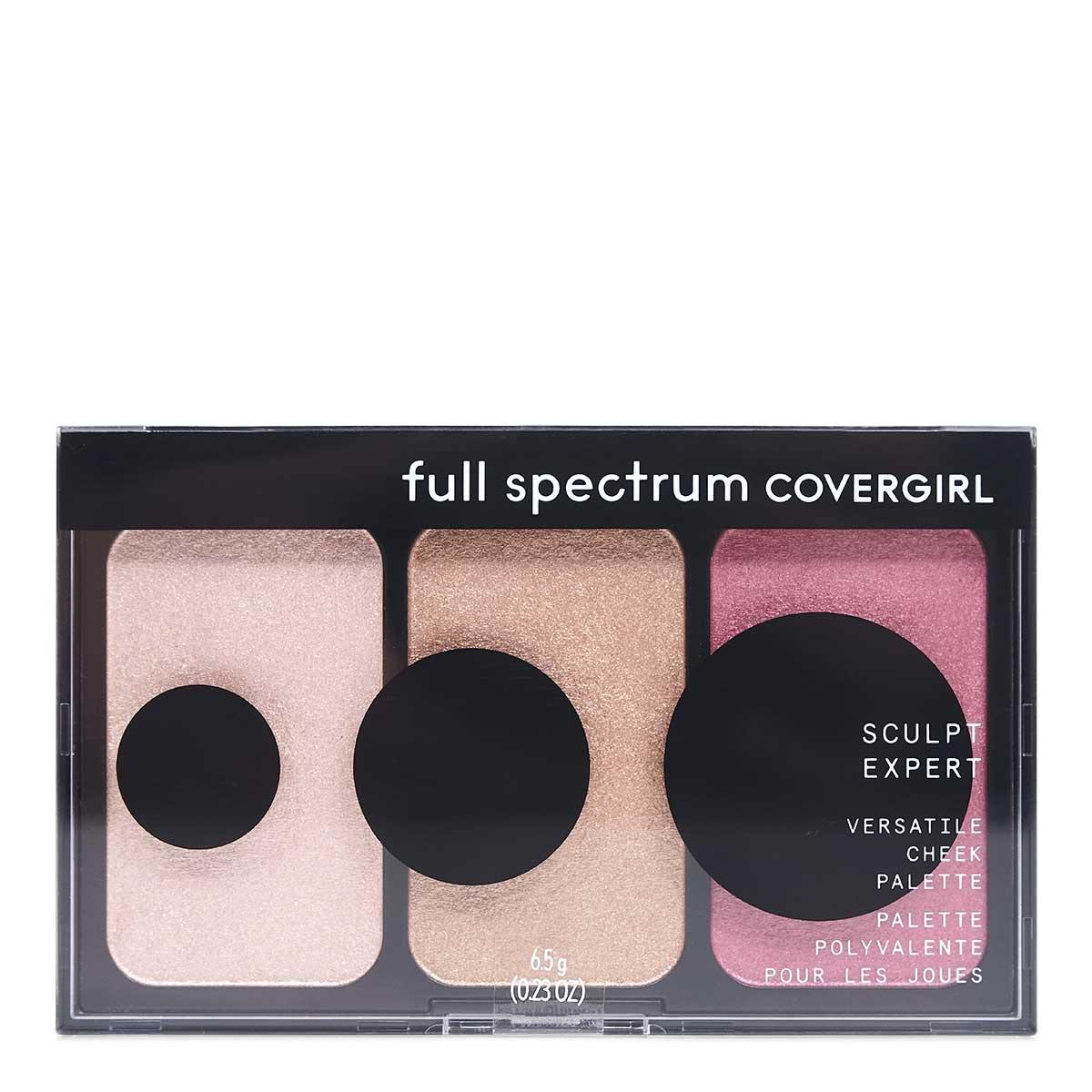COVERGIRL FULL SPECTRIUM SCULTPING PALETTE - Case of 24 units