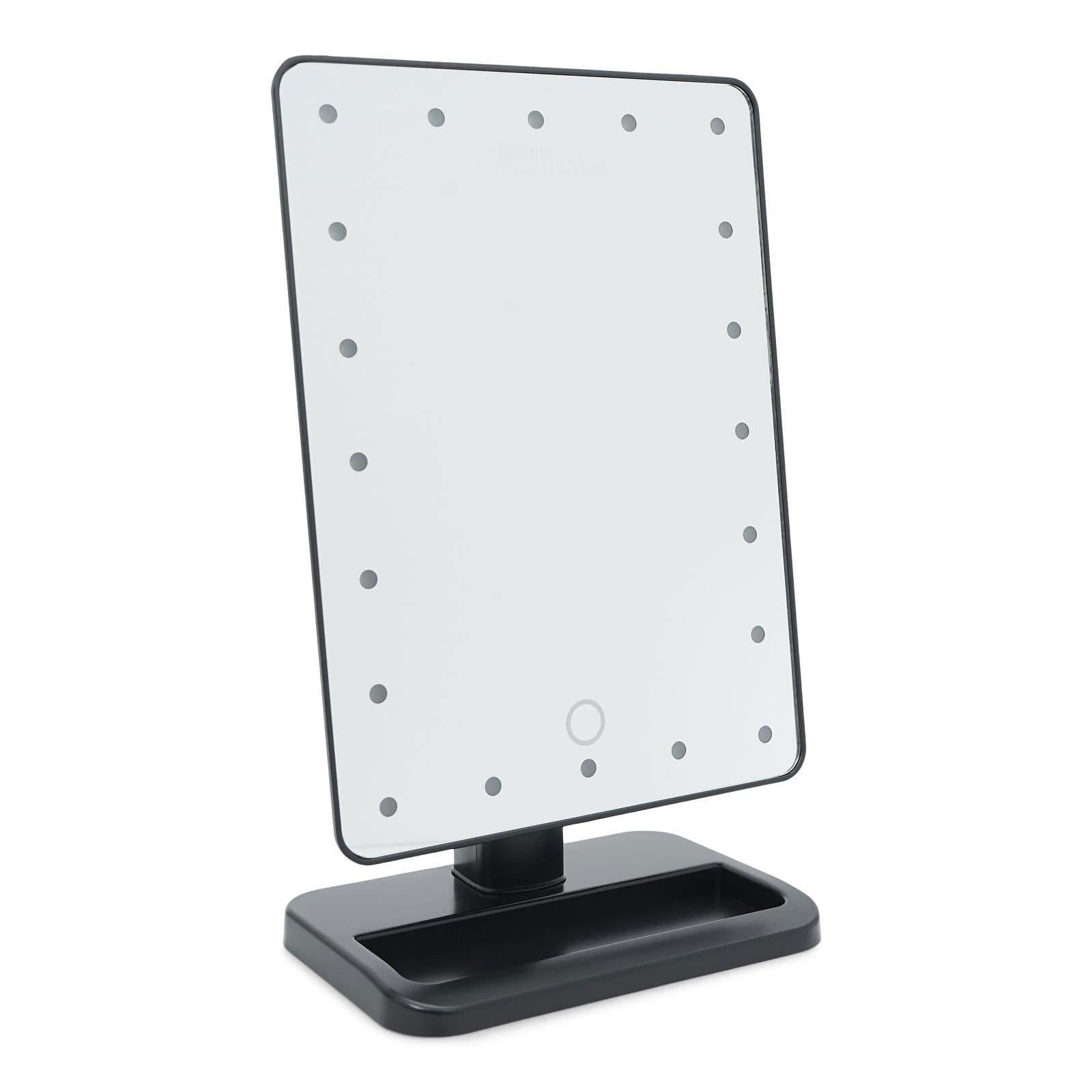 Wholesale Beauty Creations 20 LED SMART TOUCH MAKEUP MIRROR- BLACK