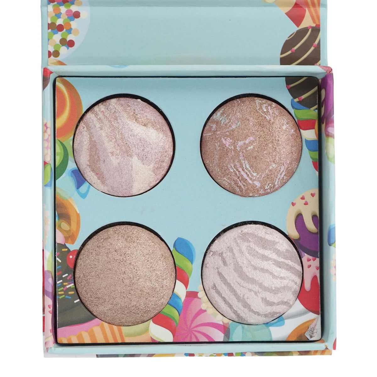 BEAUTY CREATIONS | Baked Pops Highlighter (4 colors X Case of 12)