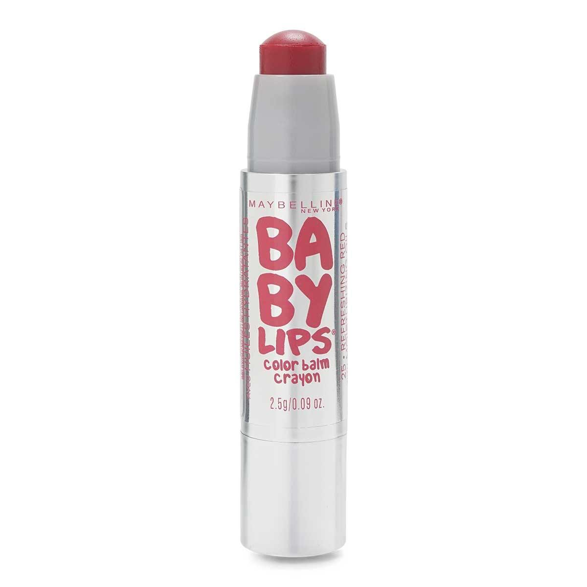 MAYBELLINE BABY LIPS CRAYON BALM- REFRESHING RED (24/cs)