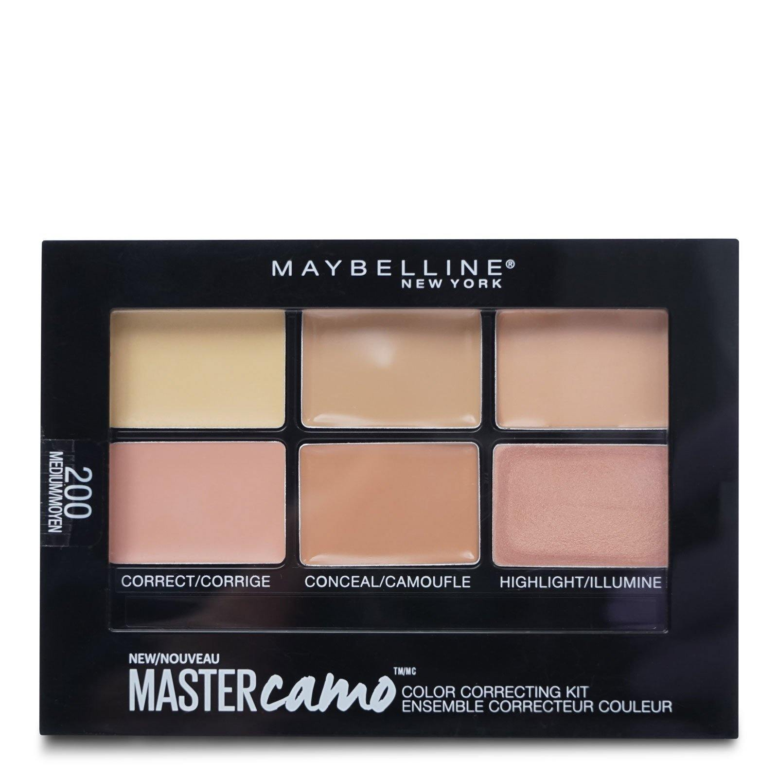 MAYBELLINE MASTER CAMO CONCEALER KIT Correct, Conceal And Highlight