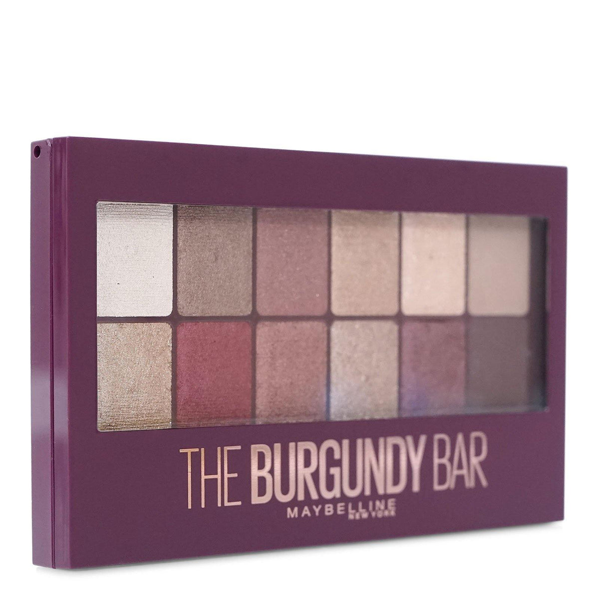 MAYBELLINE 'THE BURGUNDY BAR' 12-PAN EYESHADOW # 200 (24/cs)