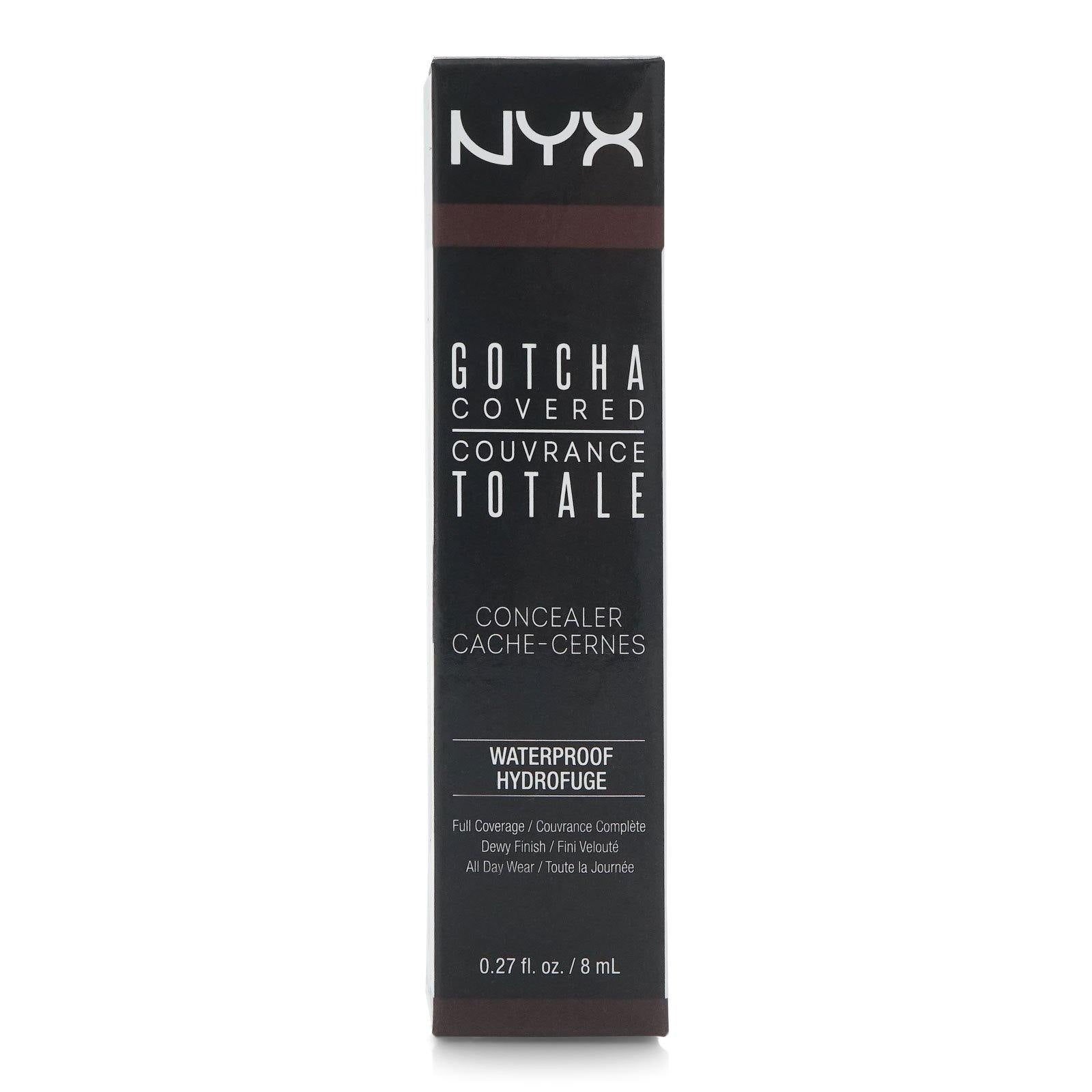 NYX GOTCHA COVERED CONCEALER- ESPRESSO (24/cs)