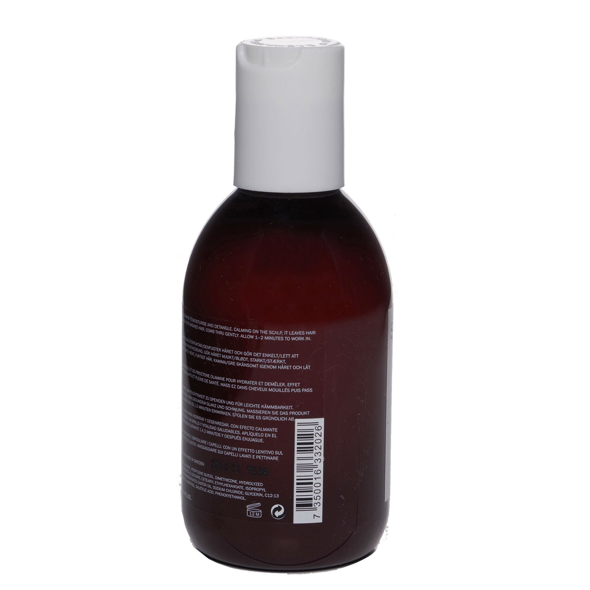 SACHA JUAN CONDITIONER NORMALIZING, Provides shine and moisture to hair - (250ML) (12/cs)