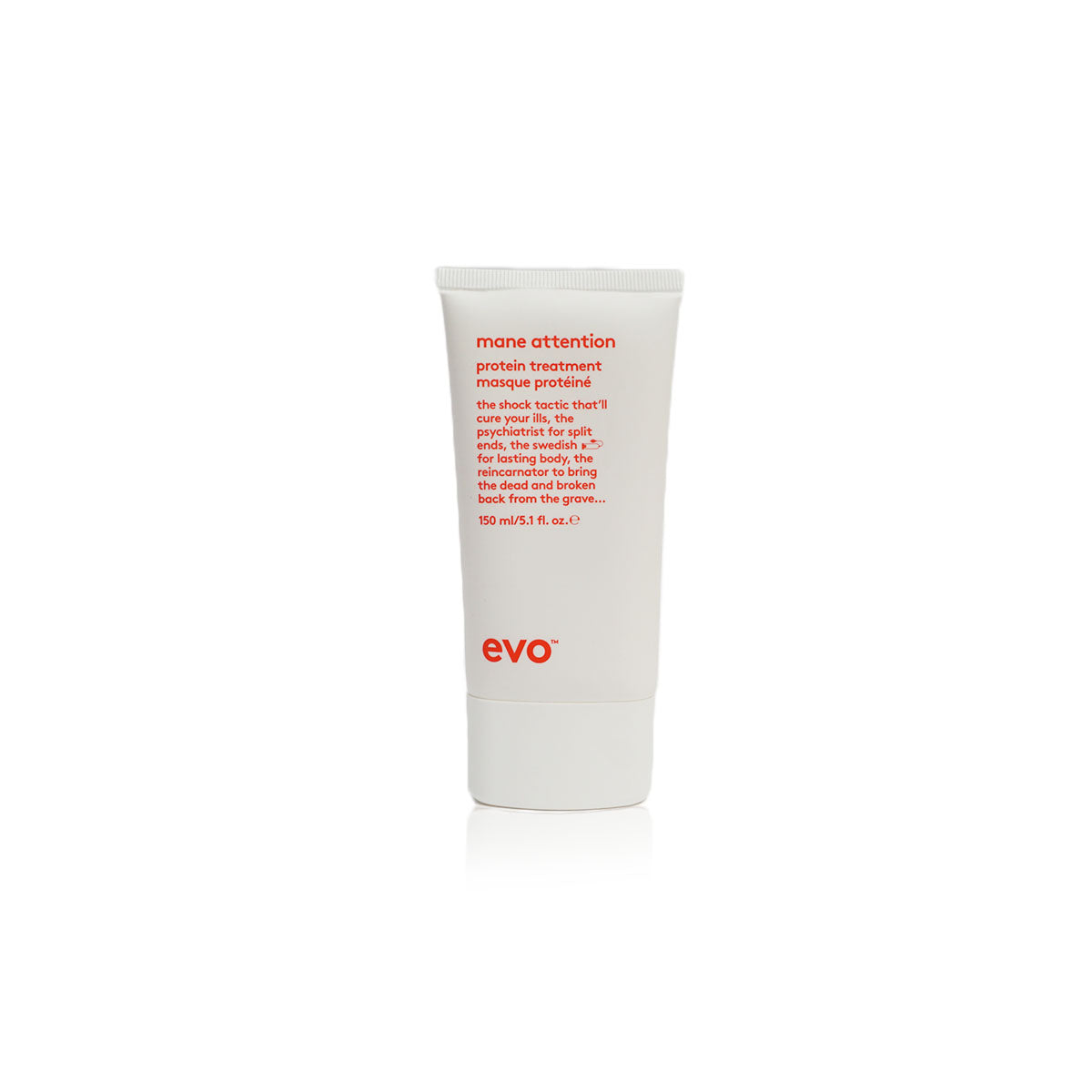 Evo mane attention protein treatment, best for brittle chemically treated hair - Case of 3 bottles 150ml / 5.1fl.oz (New)