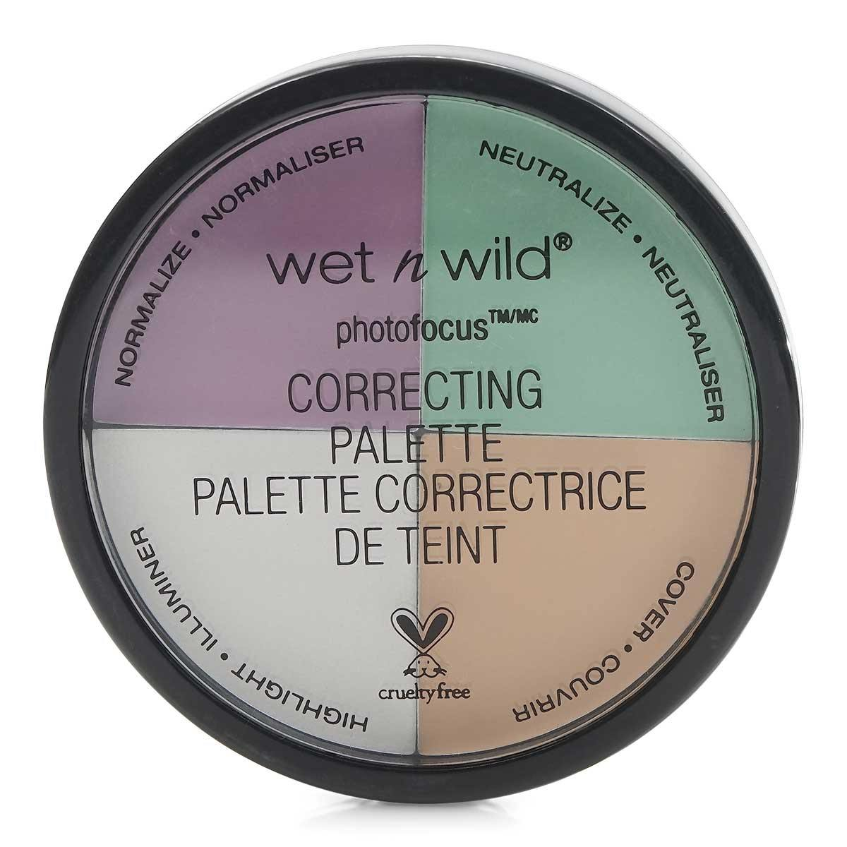 Wet n Wild Cover All Correcting Palette - Color Commentary 349 (24/cs)