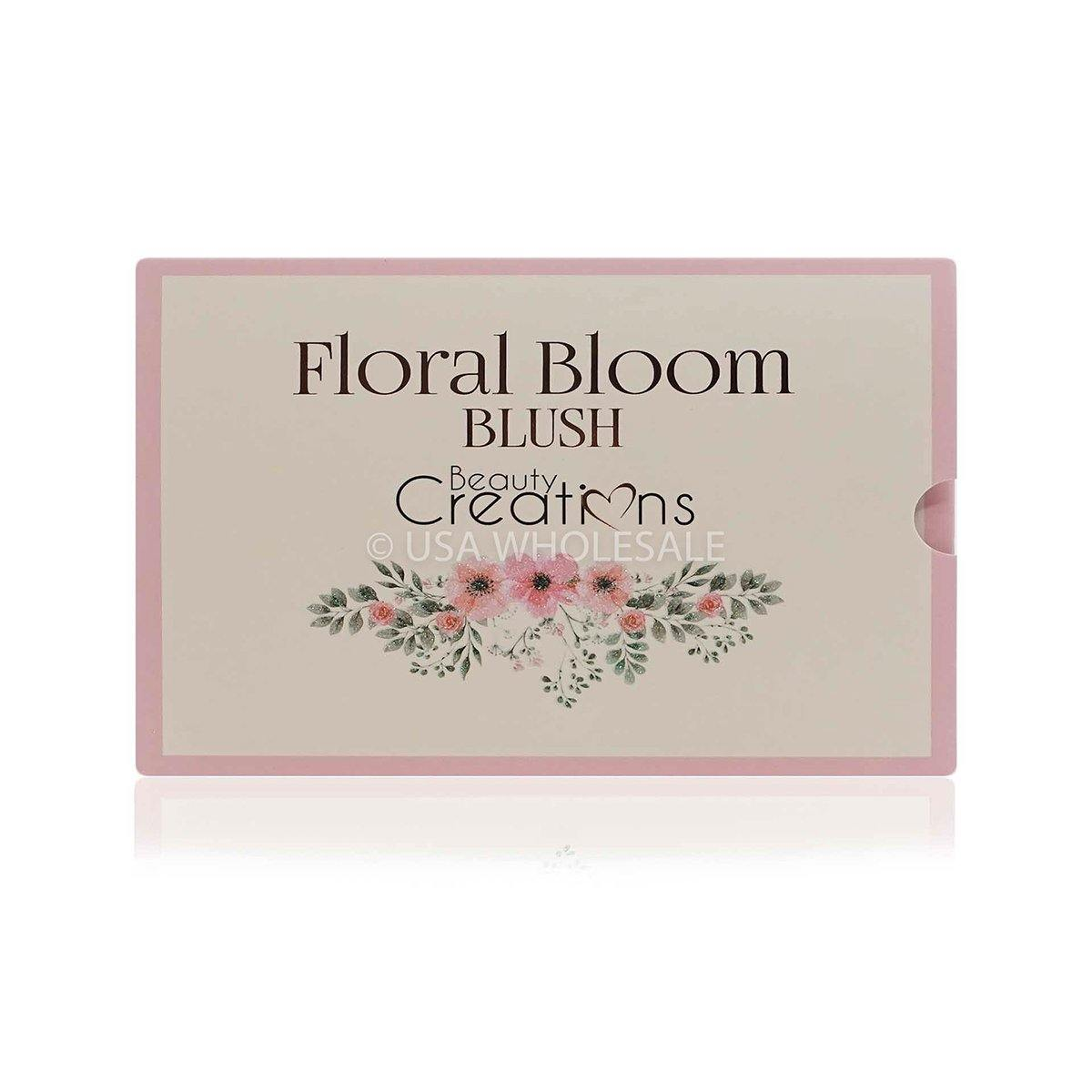 BEAUTY CREATIONS | Floral Bloom Blush Palette Display Set (6 Colors X Case of 12)