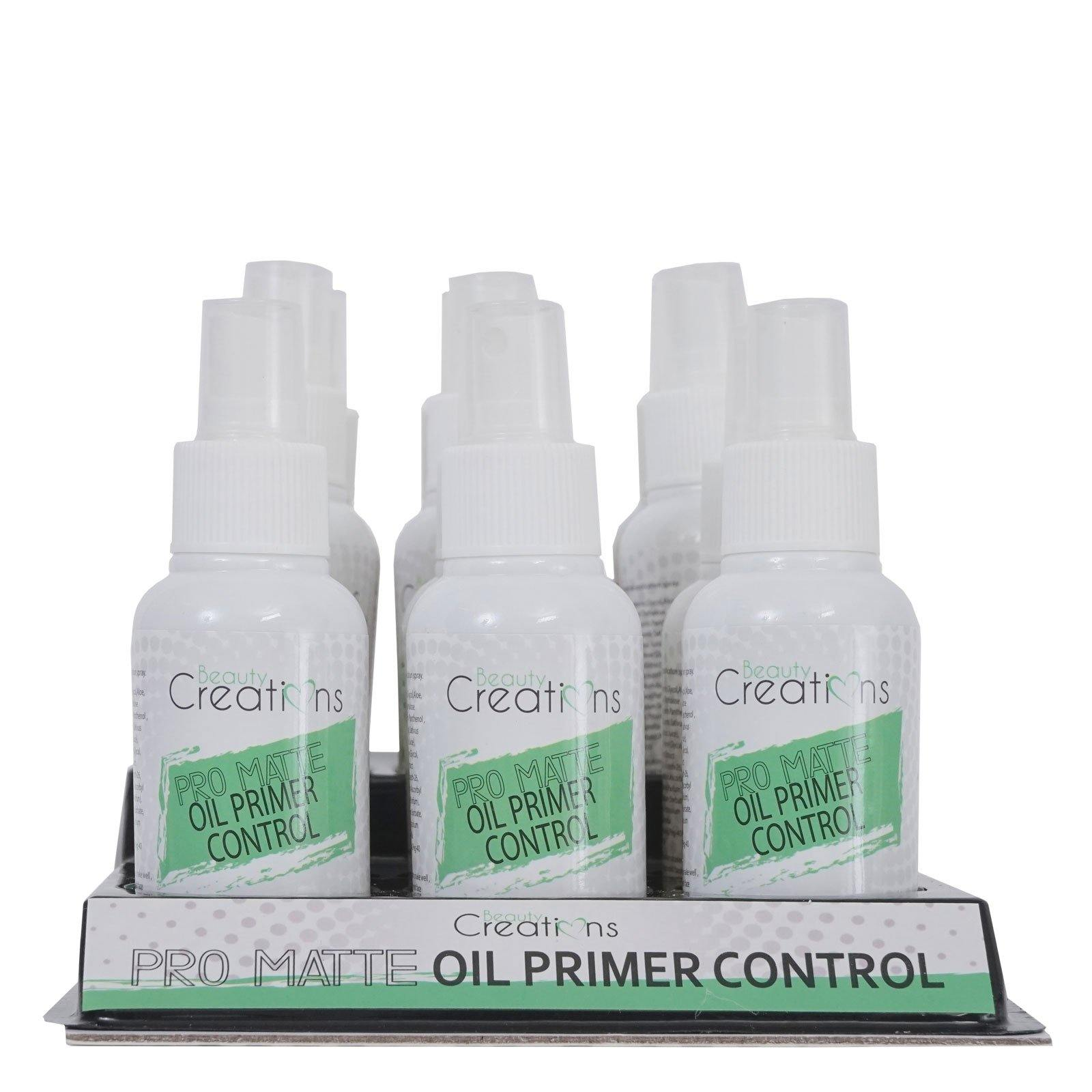 BC: Oil Control Primer Spray, Before Makeup Setting Spray, Cruelty Free - SP03 (12/cs) (60ml) (12/cs)