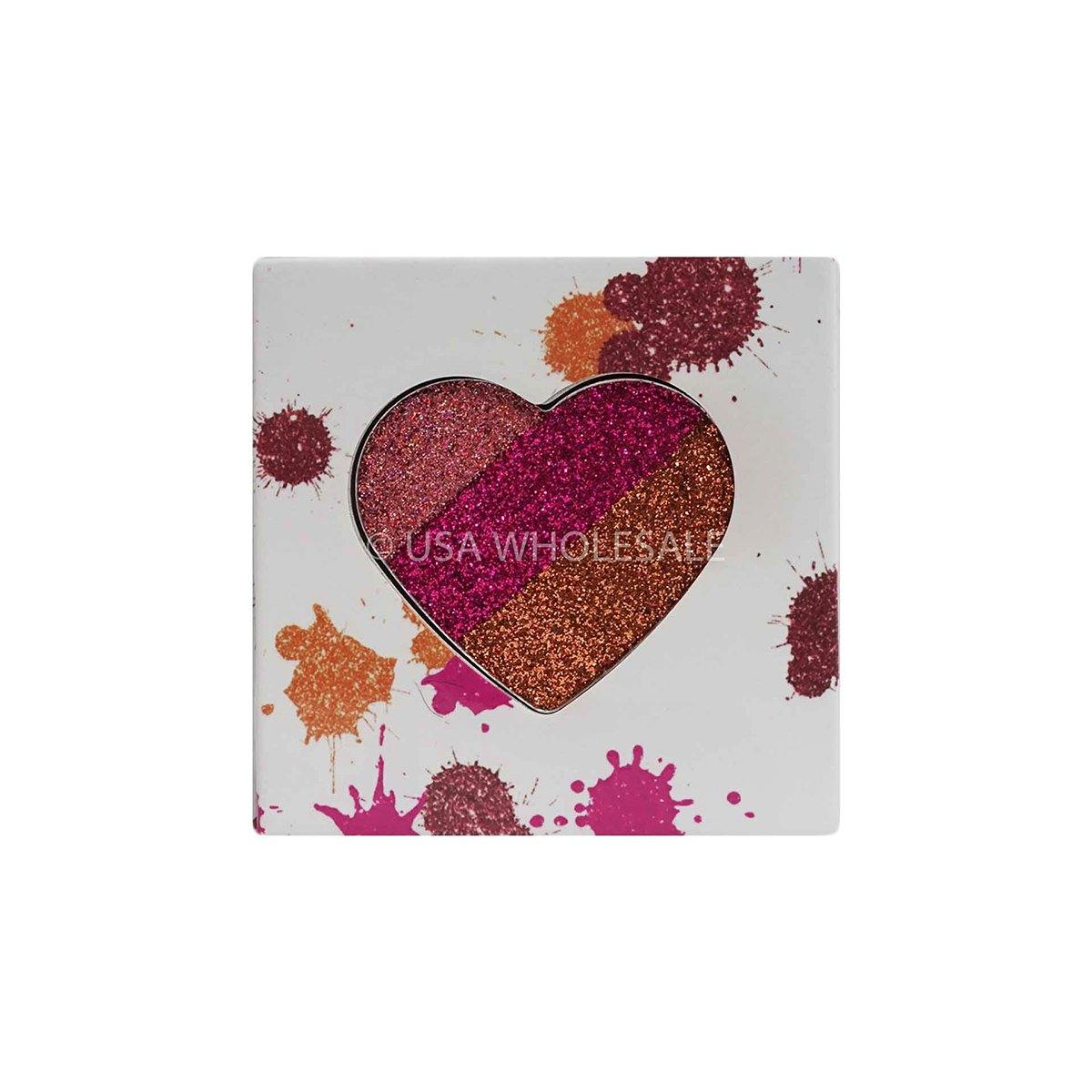 BEAUTY CREATIONS | Splash of Love Eyeshadow Palettes (Case of 24; 4 Colors X 6 ea.)