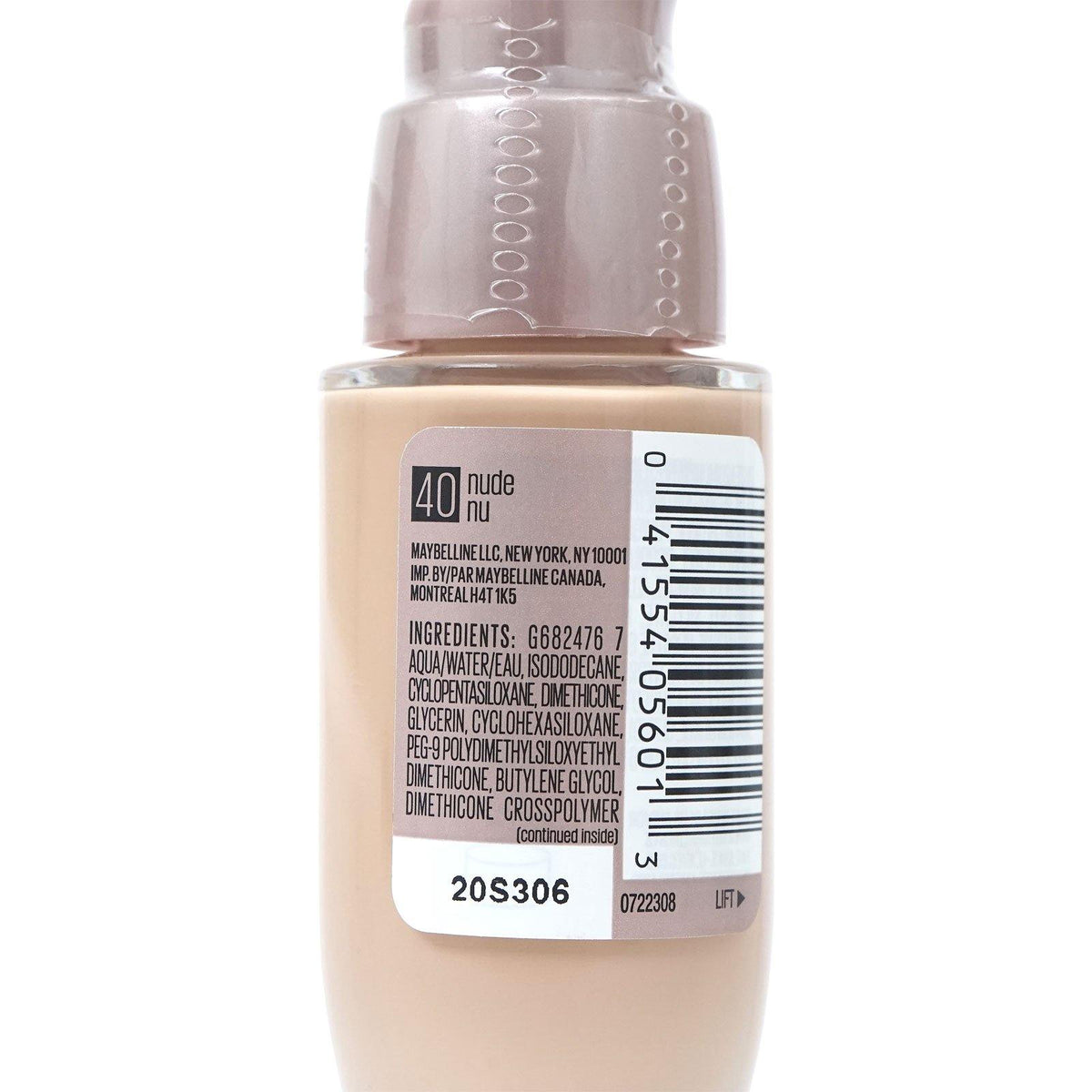 MAYBELLINE DREAM SATIN LIQUID - NUDE # 40 (24/cs)