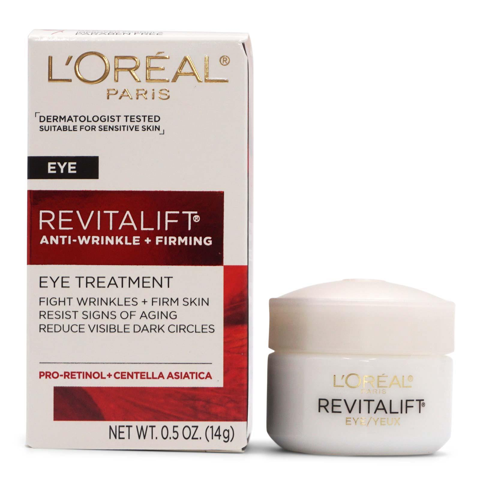 L'Oreal Revitalift Anti-wrinkle + Firming Eye Treatment (24/cs)