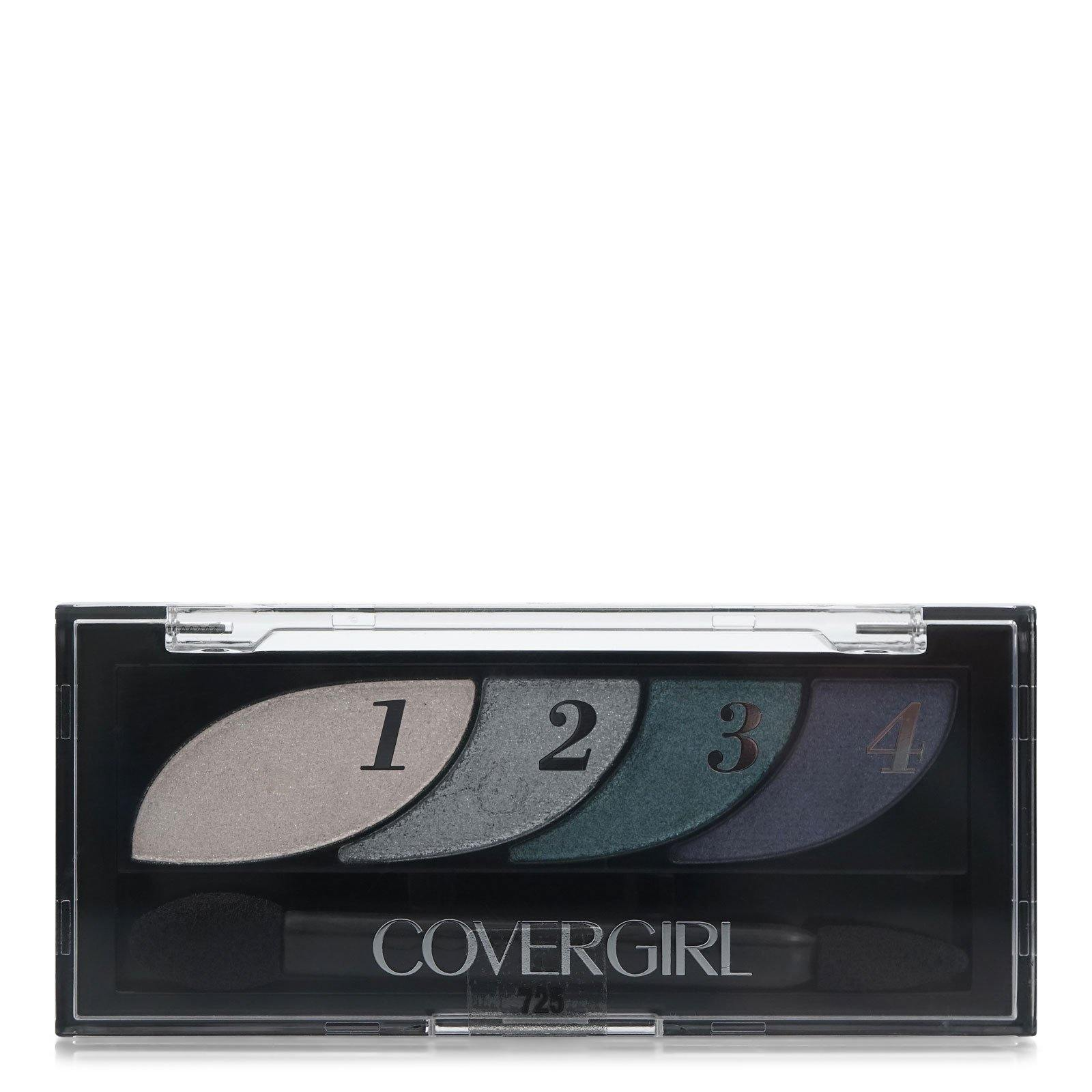 COVERGIRL QUAD EYESHADW (UNC) - BREATHTAKING BLUES (12/cs)