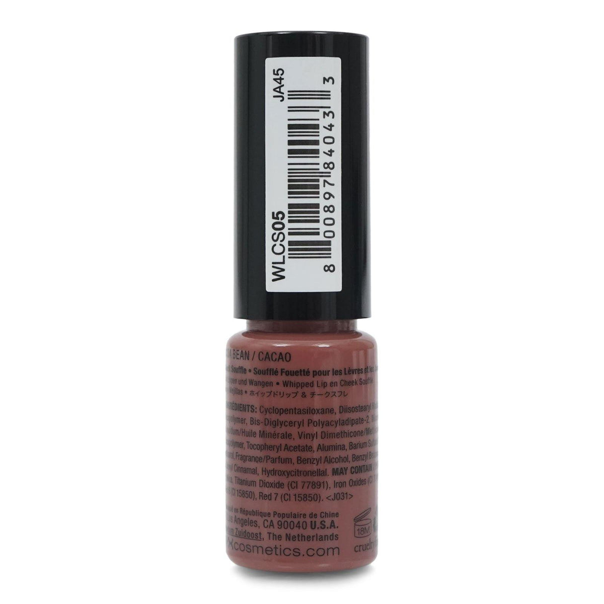 NYX WHIPPED LIP & CHEEK SOUFFLE- COCOA BEAN (24/cs)