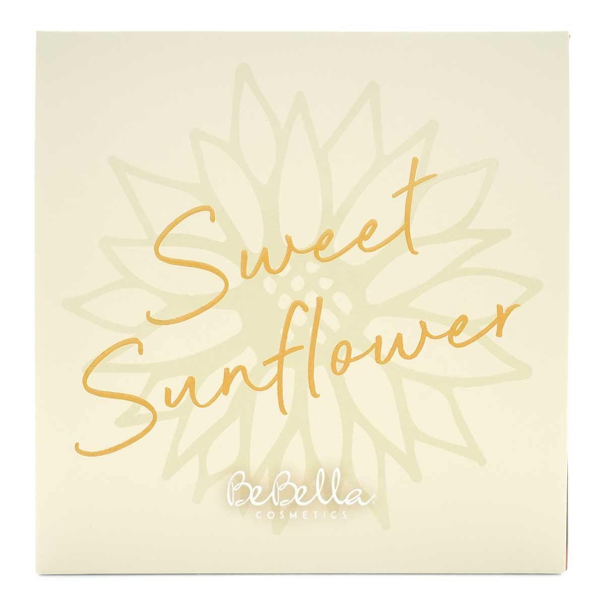 BEBELLA SWEET SUNFLOWER EYESHADOW PALETTE- EFF-A (12/cs)