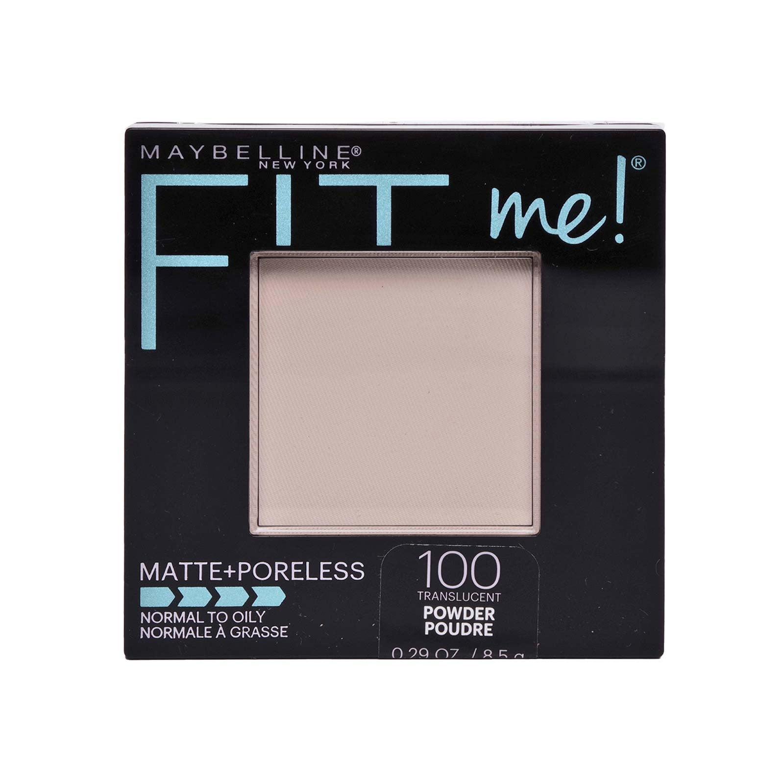 Maybelline FitMe Matte + Poreless Powder 100-Translucent (24/cs)