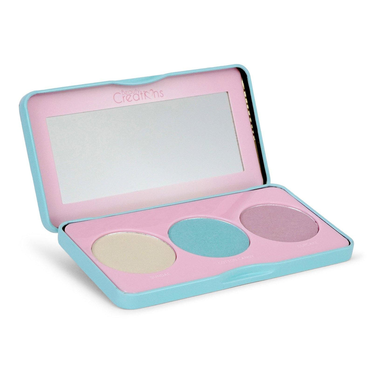 BEAUTY CREATIONS | Sweet Glow Highlighter Palette w/ 3 Shades (Case of 12)