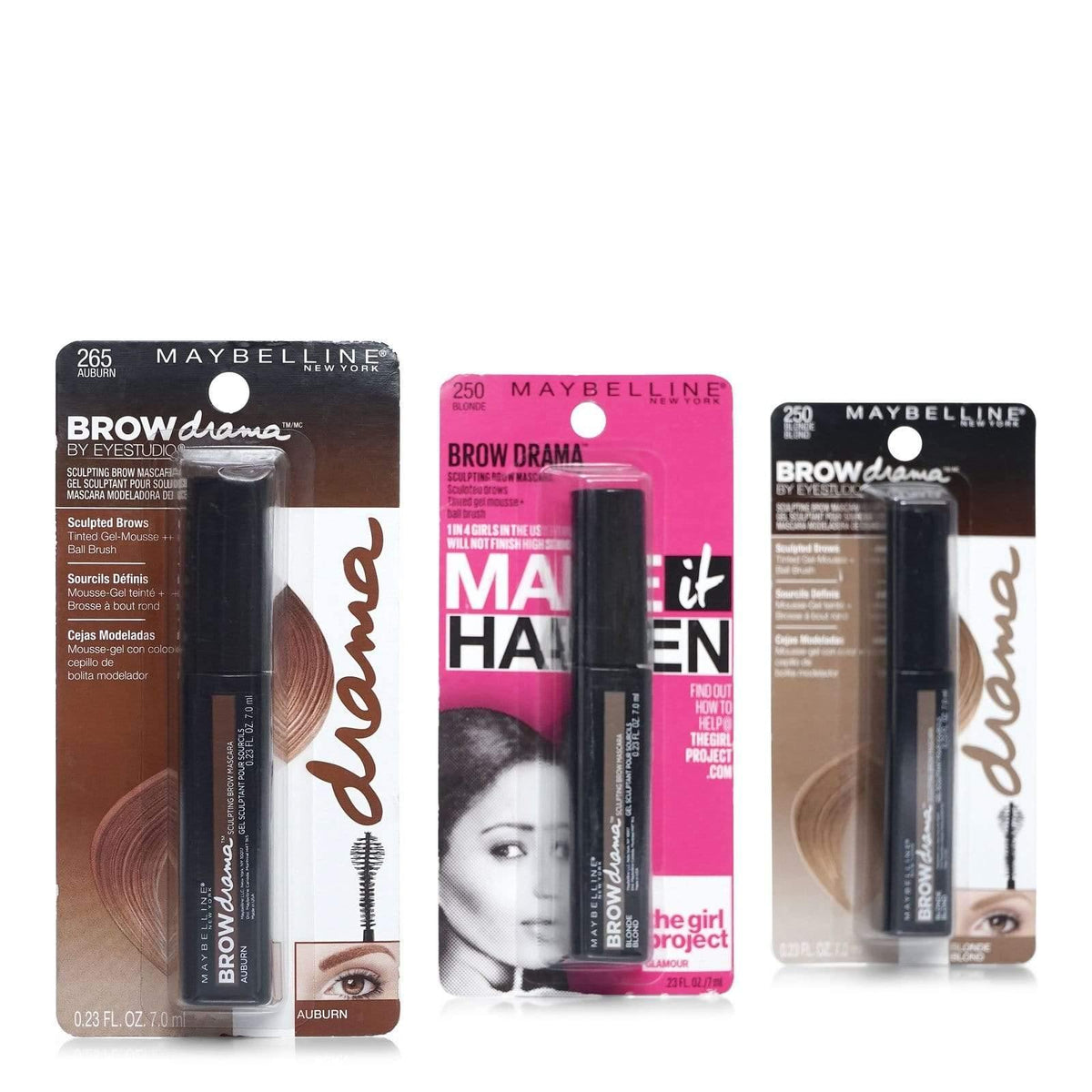 Maybelline Brow Precise Fiber Mascara Assortment
