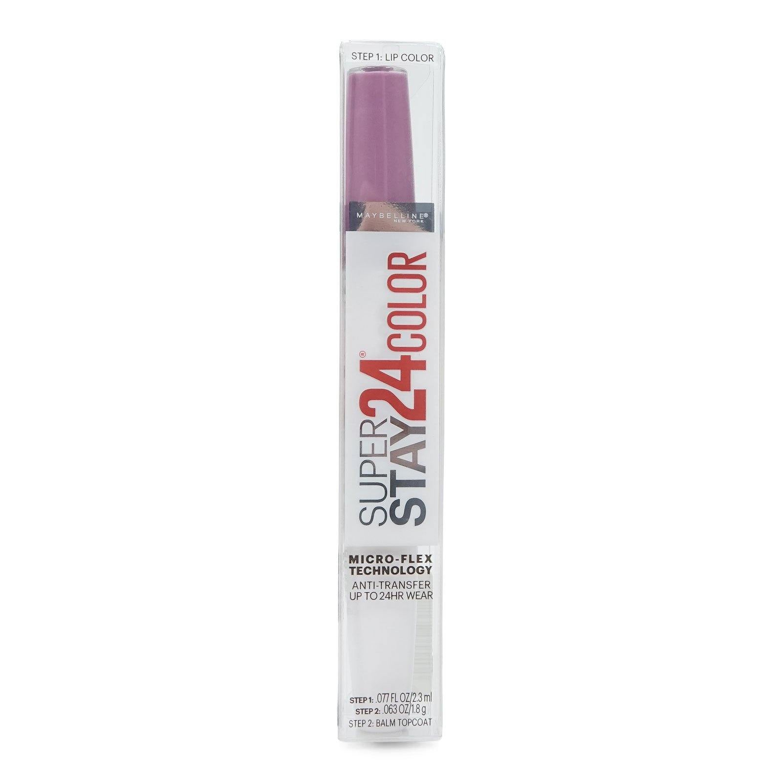 Maybelline SuperStay 24 2-Step Liquid Lipstick Makeup, (24/cs)