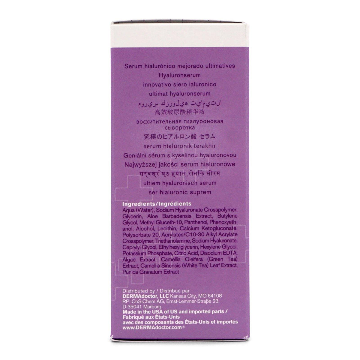 DermaDoctor Wrinkle Revenge Ultimate Hyaluronic Serum - (30ml/1oz) (12/cs)