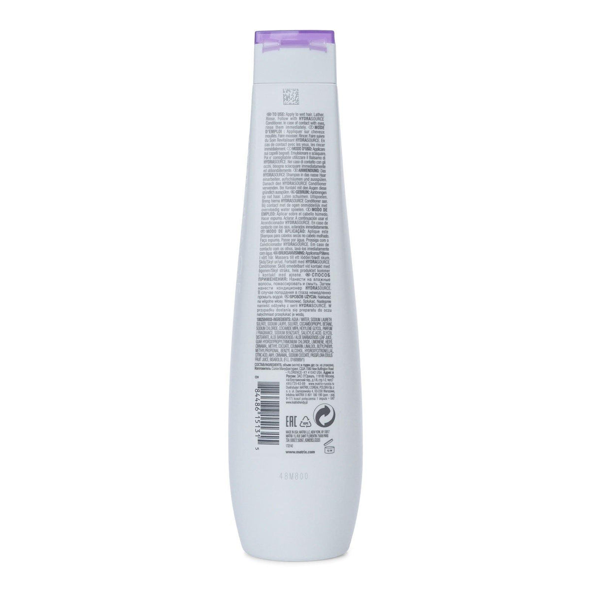 MATRIX BIO SHAMPOO 400ML HYDRASOURCE (6/cs)