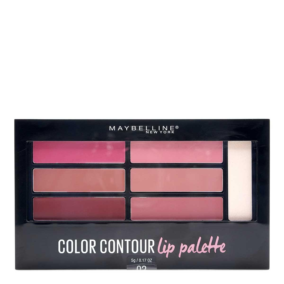 MAYBELLINE COLOR DRAMA LIP CONTOUR KIT - BLUSHED BOMBSHELL (12/cs)