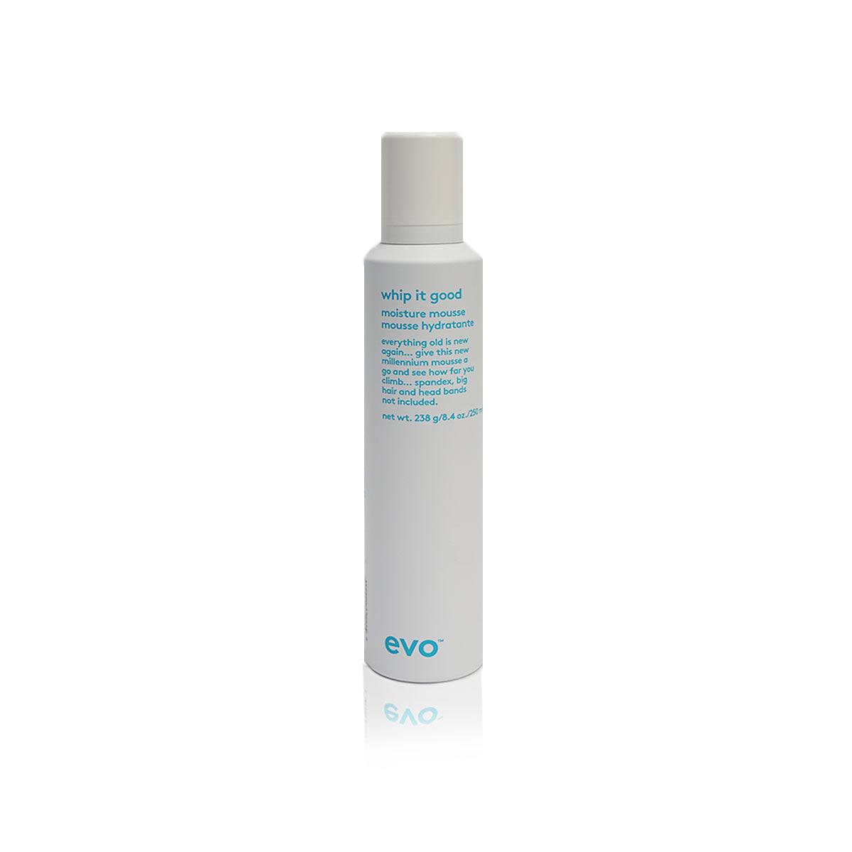 Evo whip it good moisture mousse Vegan,without sulfates, parabens or gluten - Case of 3 bottles 250ml / 8.4oz (New)