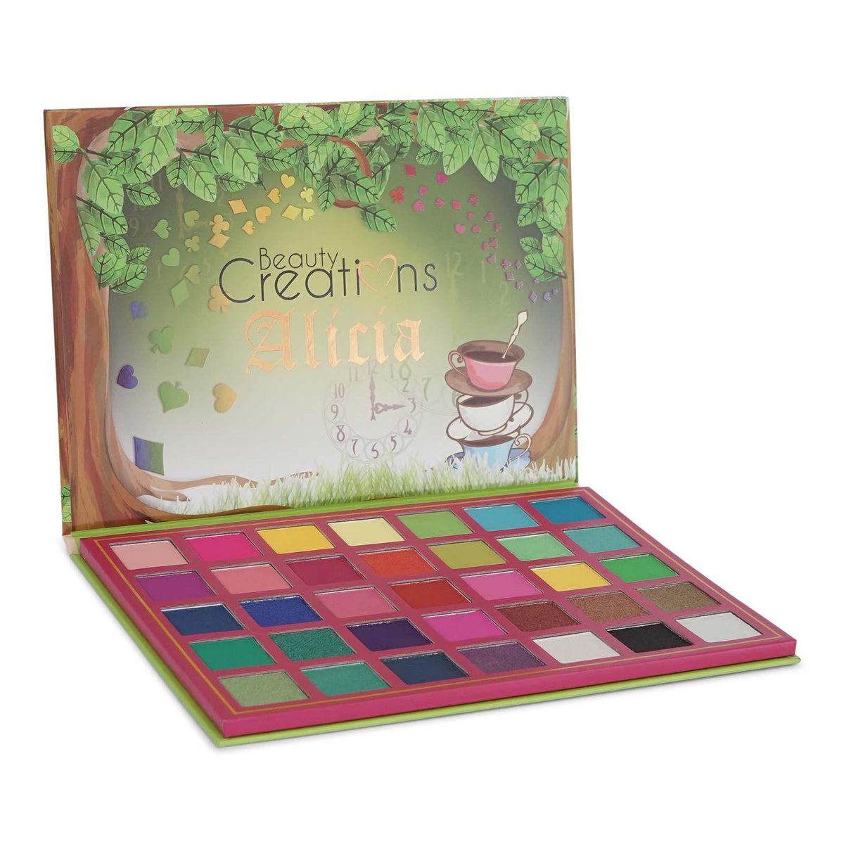 BEAUTY CREATIONS | Alicia Eyeshadow Palette Display Set (35 Colors, 6 ct.)